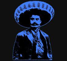 Emiliano Zapata - bichrome black / blue Unisex T-Shirt