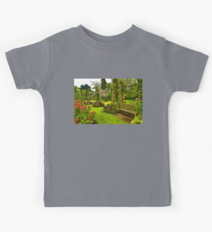 Impressions of London - Queen Mary's Rose Garden Kids Tee