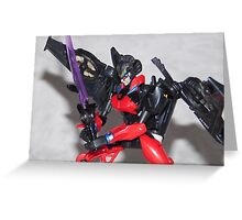 Windblade Greeting Card