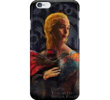 la dame au dragon iPhone Case/Skin