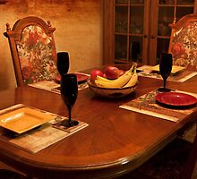 The Dining Room Table by Sherry Hallemeier