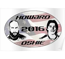 Howard Oshie 2016 Poster