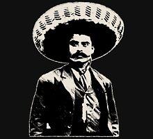 Emiliano Zapata - bichrome black / creme-white Unisex T-Shirt