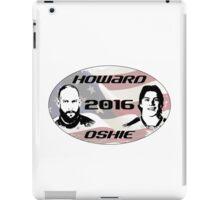Howard Oshie 2016 iPad Case/Skin