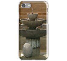 Sitting fountain iPhone Case/Skin