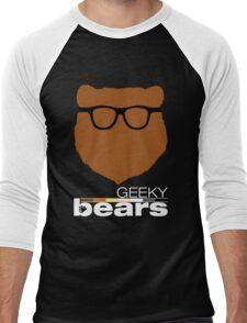 Geeky Bears Men's Baseball ¾ T-Shirt