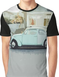 Vintage Car Graphic T-Shirt