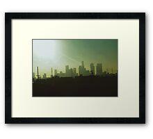 Sunny LA Framed Print