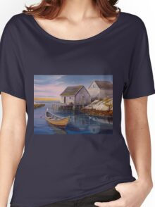 Peggys Cove Sunset Women's Relaxed Fit T-Shirt