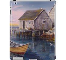 Peggys Cove Sunset iPad Case/Skin