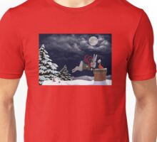 White Rabbit Christmas Unisex T-Shirt
