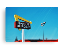 In n Out Canvas Print