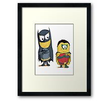 funny cartoons Framed Print