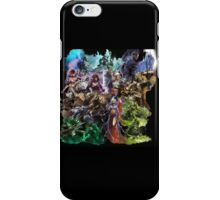 Guild Wars 2 Professions and Specializations iPhone Case/Skin