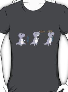 T-rex with portal gun T-Shirt