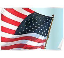 Flying Old Glory Poster