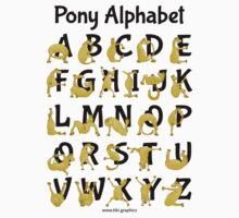 Pony Alphabet, Pink Kids Clothes