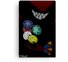 Eyeless Jackle with Ideya Canvas Print
