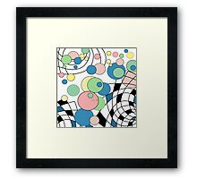 Abstraction .  Framed Print