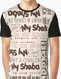 1920's Sexy Slang Graphic T-Shirt