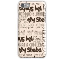 1920's Sexy Slang iPhone Case/Skin