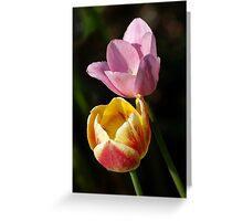 tulips, get one the second is free Greeting Card