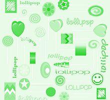 Green Lollipop by 2HivelysArt