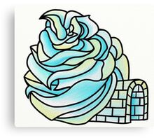 Igloo Solo Canvas Print