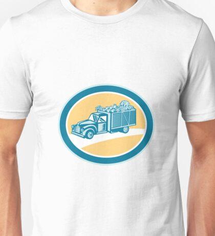 Vintage Pickup Truck Delivery Harvest Retro Unisex T-Shirt