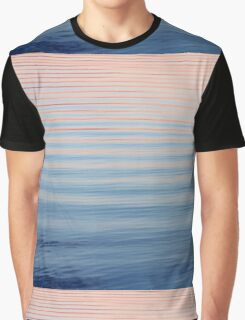 Summer Sunset Reflection on Cedarville Bay Graphic T-Shirt