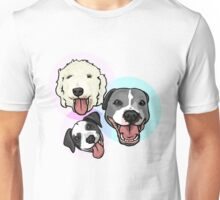 Zoey, Zeus, and Cleo Unisex T-Shirt