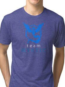 Pokemon Go Team Mystic Tri-blend T-Shirt