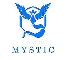 Pokemon Go Team Mystic Photographic Print