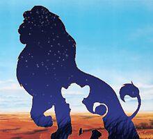 simba and mufasa by krystel04