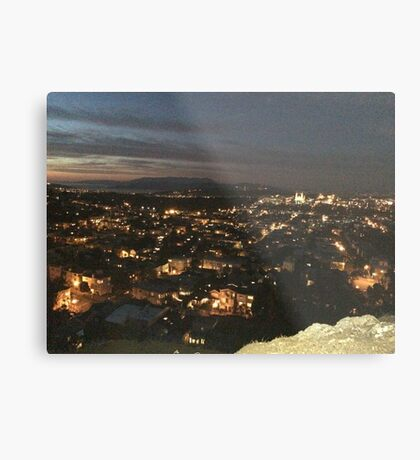 November Night in San Francisco Metal Print