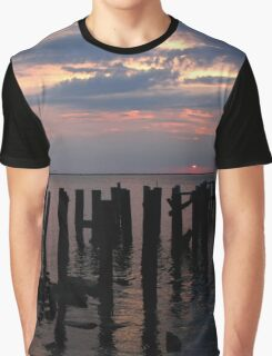 Red Pier Graphic T-Shirt