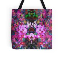 Evening of the dancing flowers Tote Bag