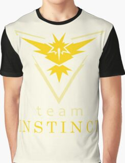 Pokemon GO Team Instinct Graphic T-Shirt
