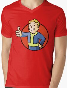 Vault  Mens V-Neck T-Shirt