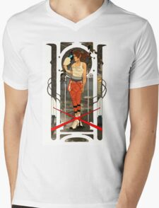 Portal Mucha  Mens V-Neck T-Shirt