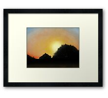 Empty Skies Framed Print