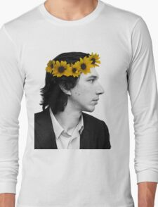 Adam Driver and Sunflower Crown (Color) Long Sleeve T-Shirt