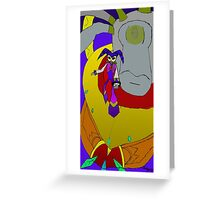 NiGHTS And Wizeman the Wicked Greeting Card