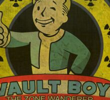 Vault Sonic Boy Sticker