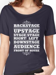 Theatre Geeks Design Women's Relaxed Fit T-Shirt