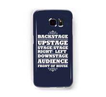 Theatre Geeks Design Samsung Galaxy Case/Skin