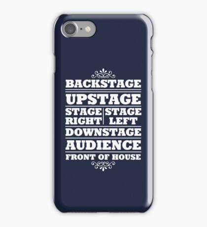 Theatre Geeks Design iPhone Case/Skin