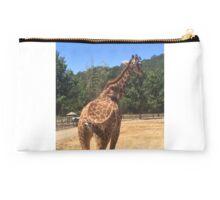 Tail Swinging Giraffe  Studio Pouch
