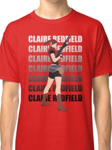 Claire Redfield Resident Evil 2 Classic T-Shirt