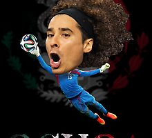 Guillermo Ochoa by mijumi